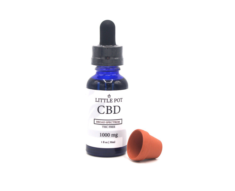 Active Ingredients Broad Spectrum CBD From Hemp Oil  MCT (Medium-Chain Triglyceride) Oil   Serving Size: 1 mL Servings Per Container: 30 Amount Per Serving: 33.3 mg