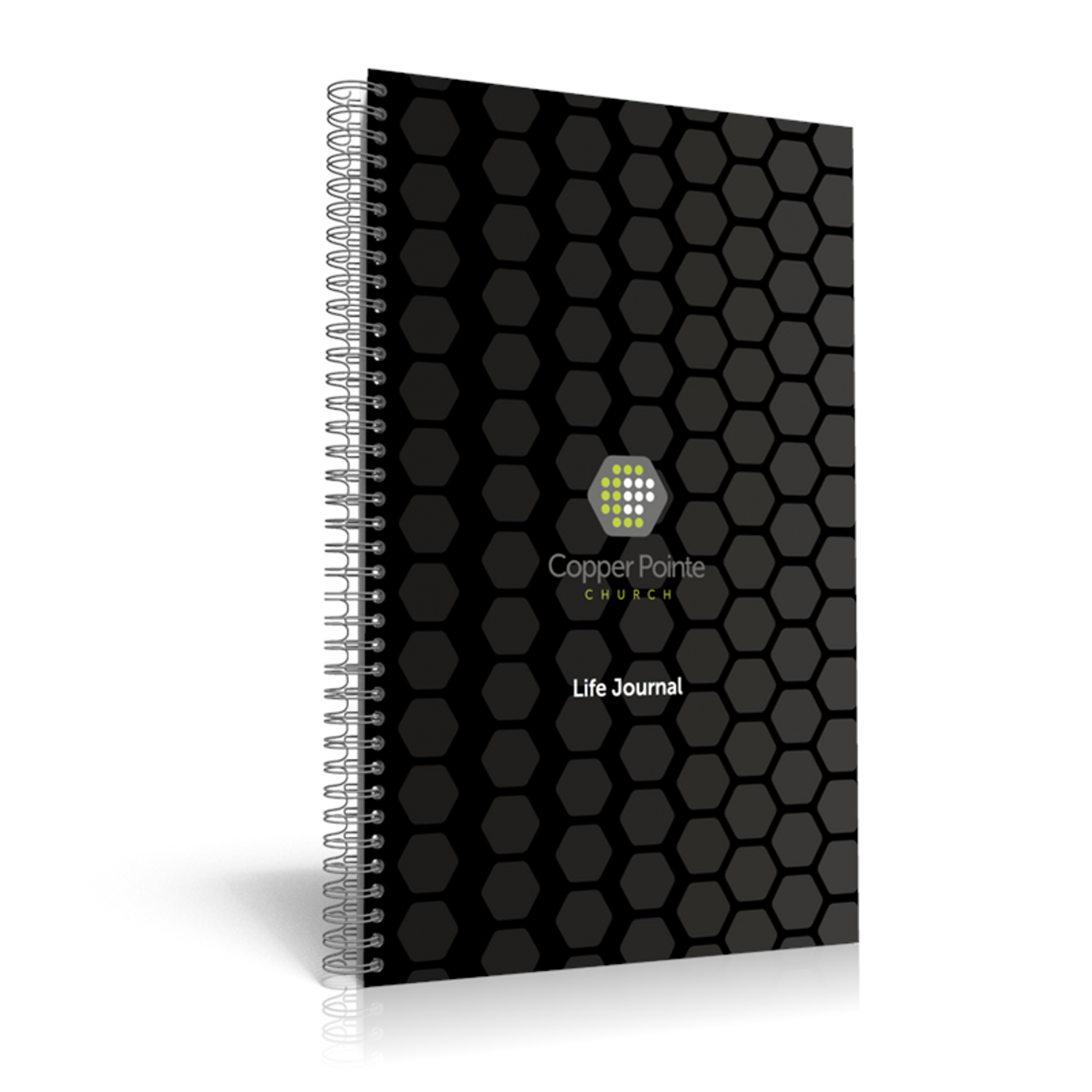 Custom Life Journal - Cover, Title Page, & 3 2-sided Pages