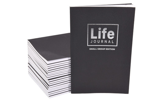Life Journal - Small Group Edition (20 Journals) 60 writing pages per Journal