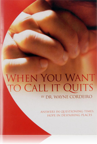 When You Want to Call it Quits - Booklet