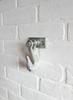 Industrial Galvanized Pipe Hook rustic industrial farmhouse Wall Art, Kitchen or Bathroom fixture, industrial pipe coat hook, Steampunk towel hook, coat rack, hanger, entryway hat hook