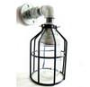 Mason jar Wall Sconce Industrial Pipe - Galvanized Bathroom vanity lighting, proch light, garage light