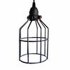 Black Cage Pendant - Industrial lighting hanging pendent lights for over kitchen island or bar