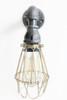 Industrial Lighting Wall Sconce w/ Brass Cages - Steampunk Bathroom vanity light - Bronze light fixture, Loft art pipe Furniture Edison