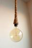 Rope, jute, manila pendant light