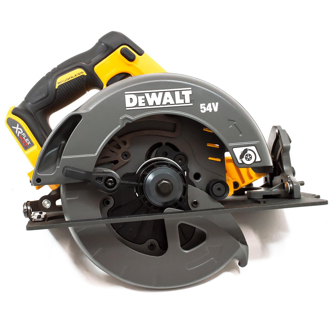 Toolstop Dewalt DCS575N 54V XR Flexvolt Circular Saw 190mm