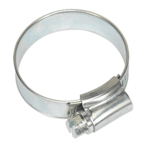 Sealey SHC1X Hose Clip Zinc Plated 25-38mm Pack of 20