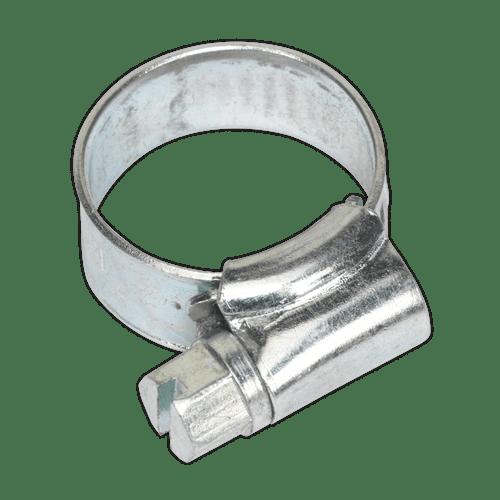 Sealey SHCM00 Hose Clip Zinc Plated 10-16mm Pack of 30
