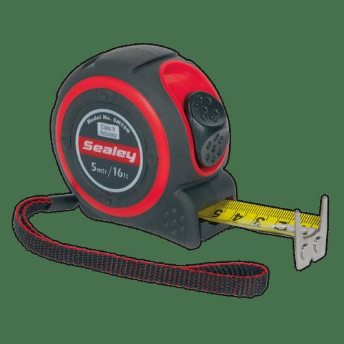 Sealey SMT5H Heavy-Duty Measuring Tape 5m(16ft)