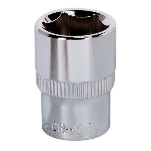 "Sealey SP3814 WallDrive Socket 14mm 3/8""Sq Drive Fully Polished"