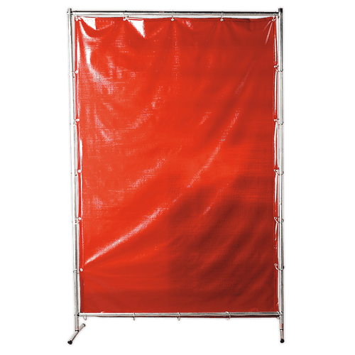 Sealey SSP99 Workshop Welding Curtain to BS EN 1598 & Frame 1.3 x 1.75m