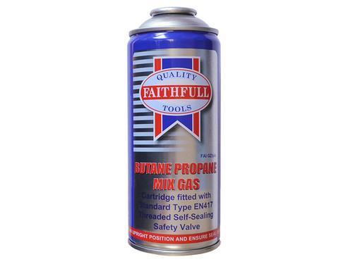 Faithfull FAIGZ170 Butane Propane Gas Cartridge 170g