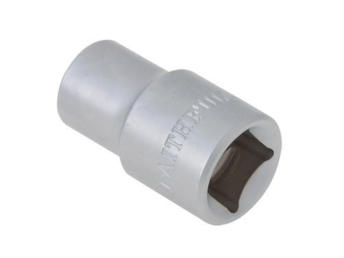 Faithfull FAISOC1212 Hexagon Socket 1/2in Drive 12mm