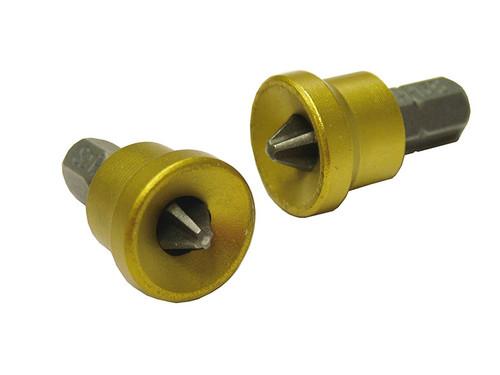 Faithfull FAISBPH2DW Drywall Screwdriver Adaptor + Bits 2 Ph2