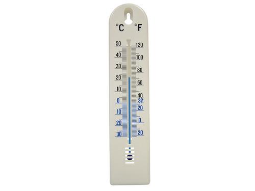 Faithfull FAITHPLASTIC Wall Thermometer - Plastic 200mm