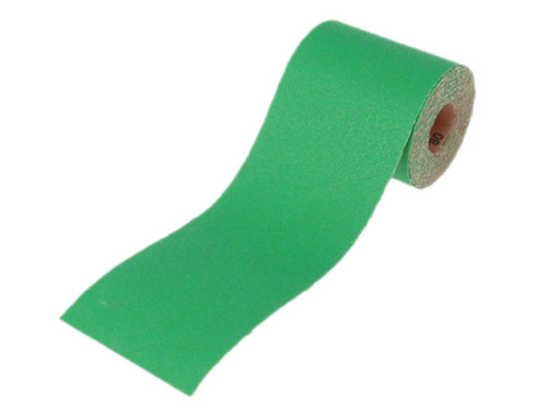Faithfull FAIAR560G Aluminium Oxide Sanding Paper Roll Green 115mm x 5m 60G