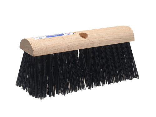 Faithfull FAIBRPVC13SA Saddleback Broom PVC 325mm (13in)
