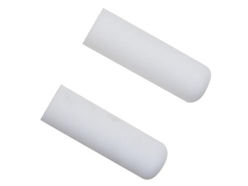 Faithfull FAIRMINI2F Foam Mini Roller Refills 100mm (4in) Pack of 2