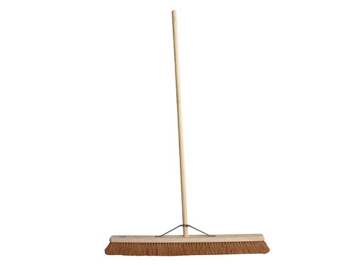Faithfull FAIBRCOCO36H Broom Soft Coco 90cm (36in) + Handle & Stay