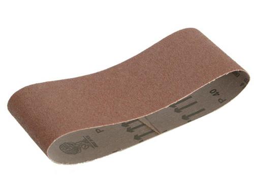 Faithfull FAIAB100610F Cloth Sanding Belt 610 x 100mm 120G (Pack of 3)