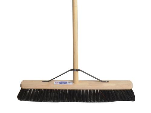 Faithfull FAIBRPVC24H PVC Broom with Stay 60cm (24in)