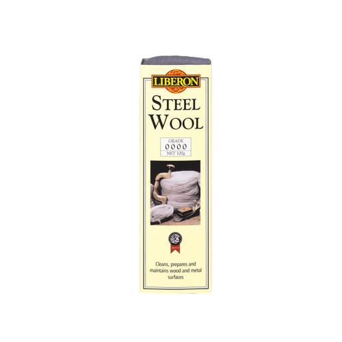 Liberon LIBSW2100G Steel Wool Grade 2 100g   Toolden