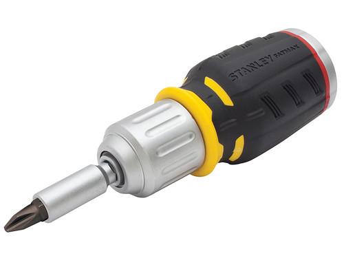 Stanley Tools STA062688 FatMax Ratchet Screwdriver Stubby