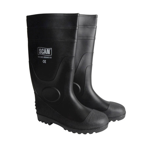 Scan SCAFWWELL11 Safety Wellingtons UK 11 Euro 46