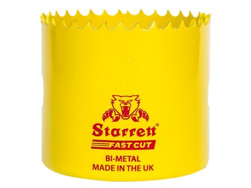 Starrett STRHS59AX FCH0256 Fast Cut Bi-Metal Holesaw 59mm | Toolden