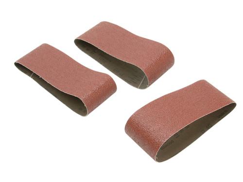 Black & Decker B/DX33106 Sanding Belts 457 x 75mm 100G (Pack of 3) | Toolden