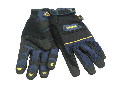 General Purpose Construction Gloves - Large   Toolden