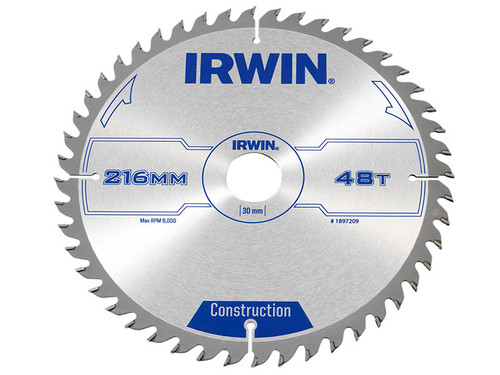General Purpose Table & Mitre Saw Blade 216 x 30mm x 48T ATB   Toolden