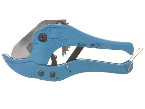 BlueSpot Tools B/S09311 Ratchet PVC Pipe Cutter 42mm | Toolden