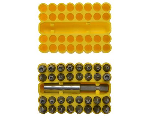 BlueSpot Tools B/S14151 Security Bit Set 33 Piece | Toolden