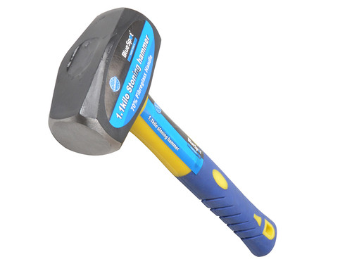 BlueSpot Tools B/S26200 Club Hammer Fibreglass Handle 1.13kg (2.1/2lb) | Toolden