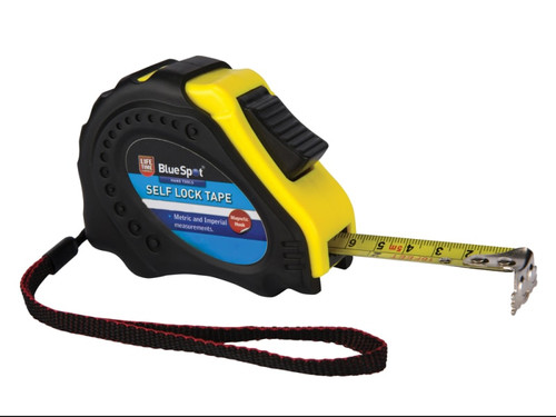BlueSpot Tools B/S33006 Easy Read Magnetic Pocket Tape 7.5m/25ft   Toolden