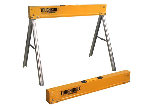 ToughBuilt T/BC3002 C300-2 Sawhorse Twin Pack | Toolden