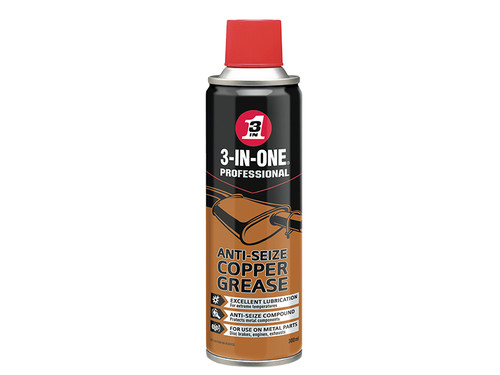 3-IN-ONE HOW44607 3-IN-ONE Anti-Seize Copper Grease 300ml | Toolden