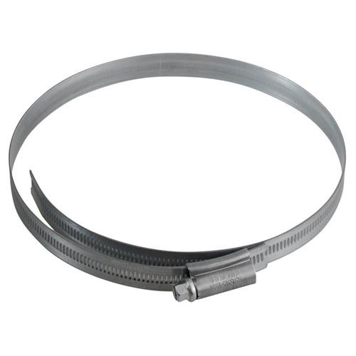 Jubilee JUB7 7in Zinc Protected Hose Clip 135 - 165mm (5.1/4 - 6.1/2in)   Toolden