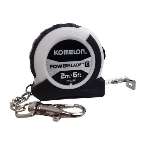 Komelon KOM2MKRT PowerBlade II Pocket Key Ring Tape 2m/6ft   Toolden