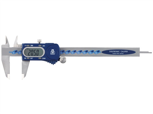 Moore & Wright MAW11015DBL Digital Calipers 150mm (6in)   Toolden
