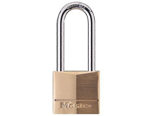 Master Lock MLK140LH Solid Brass 40mm Padlock 4-Pin - 51mm Shackle | Toolden