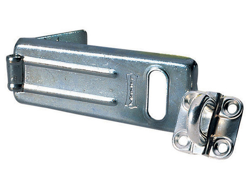 Master Lock MLK704 Wrought Steel Hasp 115mm | Toolden