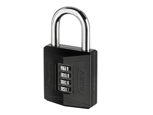 ABUS Mechanical ABU15850C 158/50 50mm Combination Padlock (4-Digit) Die Cast Body Carded | Toolden
