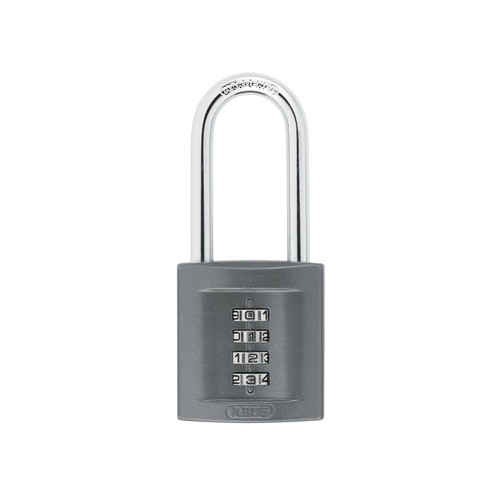 ABUS Mechanical ABU15850LS 158/50HB50 50mm Long Shackle Combination Padlock (4 Digit) | Toolden