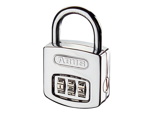 ABUS Mechanical ABU16040C 160/40 40mm Steel Case Die Cast Body Combination Padlock (3-Digit) Carded | Toolden