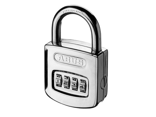 ABUS Mechanical ABU16050C 160/50 50mm Steel Case Die Cast Body Combination Padlock (3-Digit) Carded | Toolden