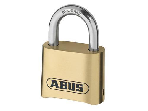 ABUS Mechanical ABU180IB50C 180IB/50 50mm Brass Body Combination Padlock (4-Digit) Carded | Toolden