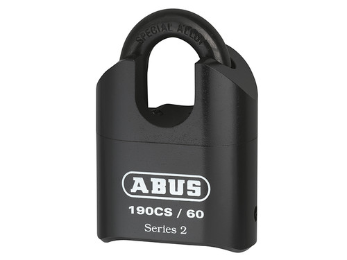 ABUS Mechanical ABU19060CSC 190/60 60mm Heavy-Duty Combination Padlock Closed Shackle (4-Digit) Carded | Toolden