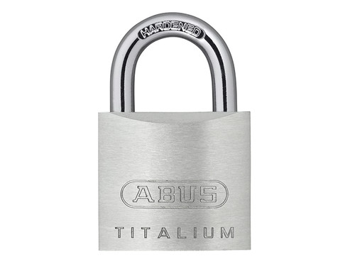 ABUS Mechanical ABU54TI30C 54TI/30mm TITALIUM Padlock Carded